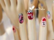 Design on finger nails