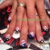 Hand paint design nails