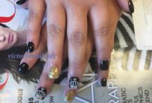 Acrylic & nails art 3D design - VictoriaNail net