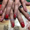 Christmas nails art design
