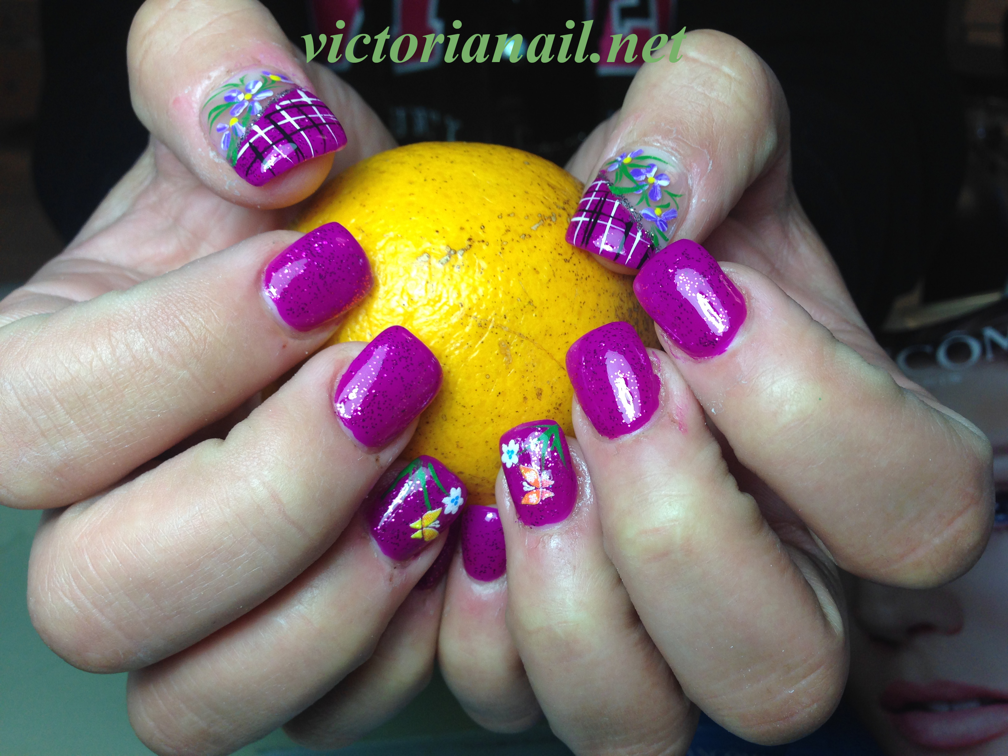 Nails Ideas For Prom 2015 On Victoria Nails Special Occasion Nails Victorianail Net