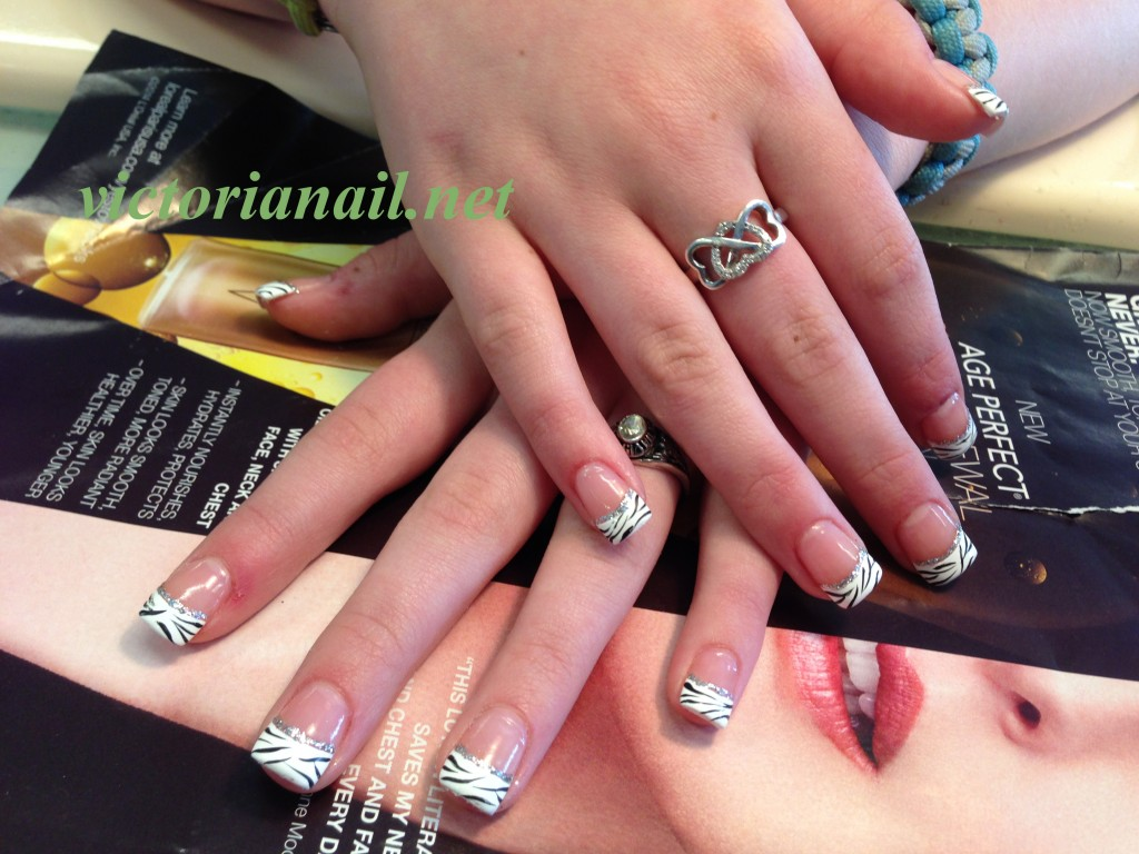Acrylic nails & hand paint - Gallery - VictoriaNail.net